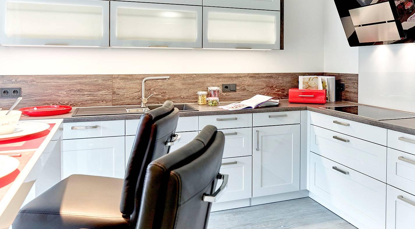 Winkelbungalow 155 W / Küche