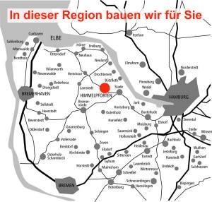 Elbe-Weser-Dreieck - In dieser Region baue wir für Sie