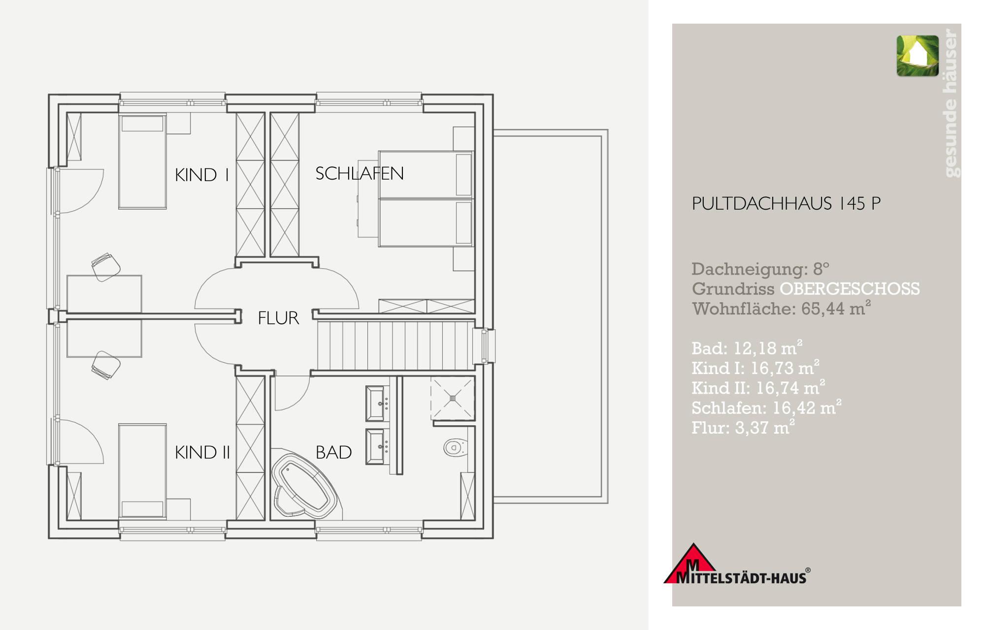 pultdachhaus145p