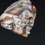 Haus einblick